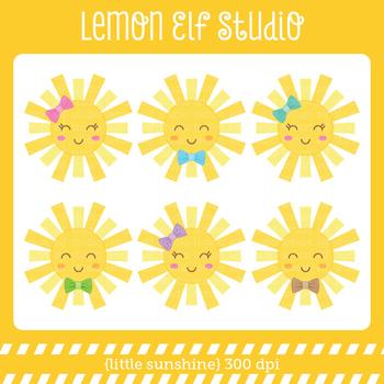 Little Sunshine-Digital Clipart (LES.CL66)