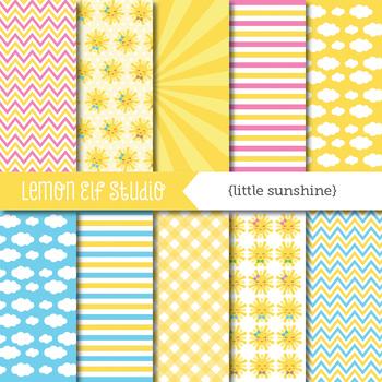 Little Sunshine-Digital Paper (LES.DP66)
