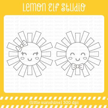Little Sunshine-Digital Stamp (LES.DS66)