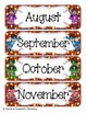 Little Superheroes Calendar Numbers, Months and Days