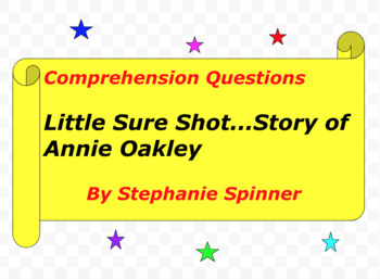 Little Sure Shot...The Story of Annie Oakley
