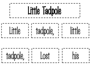 Little Tadpole Poetry Pack