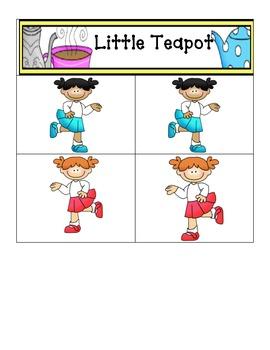 Little Tea Pot- Card Matching