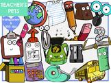 Teacher's Pets - School Supplies (Digital Clip Art)