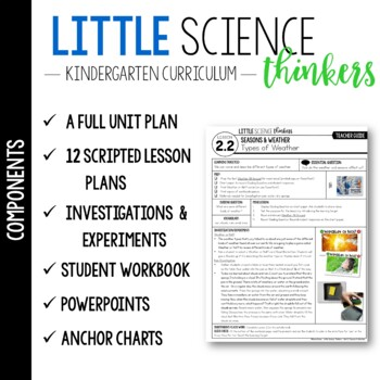 Little SCIENCE Thinkers UNIT 2: Seasons and Weather {Kindergarten Science}