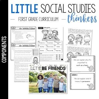 Little Thinkers SOCIAL STUDIES {1st grade} UNIT 1: Responsible Citizenship