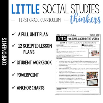 Little SOCIAL STUDIES Thinkers  {1st grade} UNIT 3: Holidays Around the World
