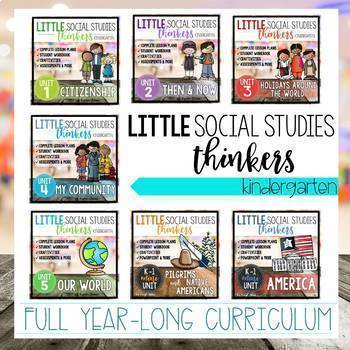 Little Thinkers Social Studies YEAR-LONG CURRICULUM