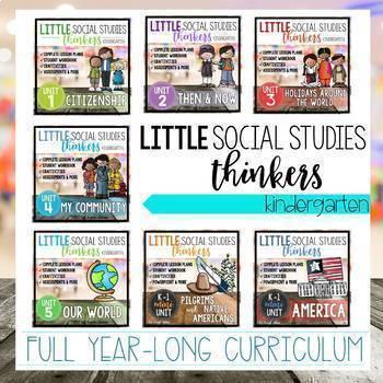 Little  Social Studies Thinkers CURRICULUM {Kindergarten Social Studies}