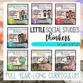 Little  Social Studies Thinkers CURRICULUM {Kindergarten S