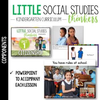 Little SOCIAL STUDIES Thinkers UNIT 1: Citizenship {Kindergarten Social Studies}