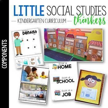 Little Social Studies Thinkers UNIT 4: My Community /Kindergarten Social Studies