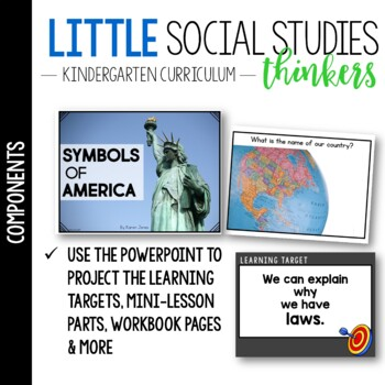 Little Social Studies Thinkers MINI-UNIT for K-1: America