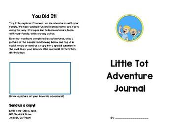 Little Tot Adventure Journal