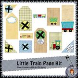 Little Train Page Kit