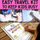 Little Travelers Bundle: Fun and Interactive Activities fo
