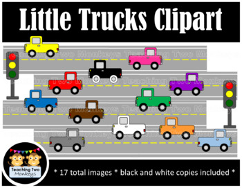 Little Trucks Clipart