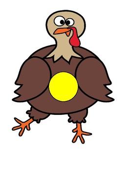 Little Turkey Game #3  Small Group Idea