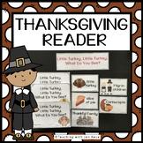 Thanksgiving Emergent Reader: Little Turkey, Little Turkey