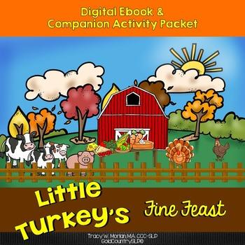 Little Turkey's Fine Feast Digital eBook & activities PK-Elem