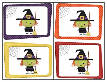 Little Witch High-Frequency Word Game