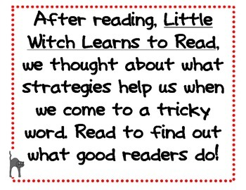 Little Witch Learns to Read!