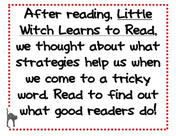 Little Witch Learns to Read