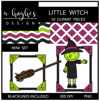 Little Witch Mini Set {Graphics for Commercial Use}