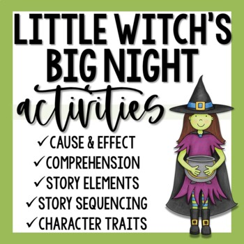 Little Witch's Big Night Activities
