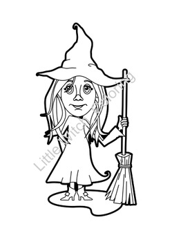 Little Witch_Printables & a FREE mask