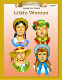 Little Women 10 Chapter Novel with Student Activities and