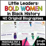 Little Leaders: Bold Women in Black History BIOGRPAHIES