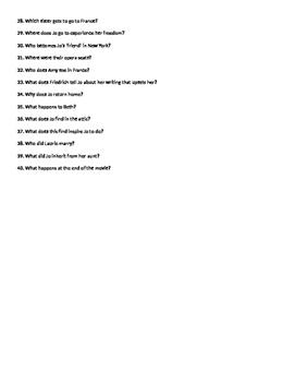 Little Women Movie Questions