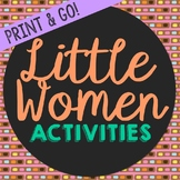 Little Women Novel Unit Study Activities, Book Companion W