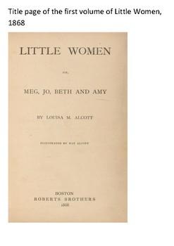 Little Women Word Search