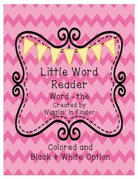 Little Word Reader - Sight Word Reader - 3 Word Set {Freebie}