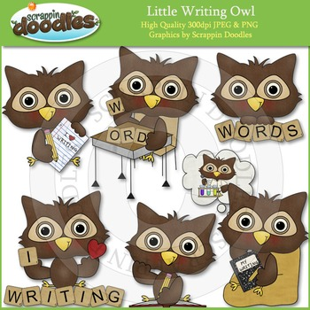 Little Writing Owl