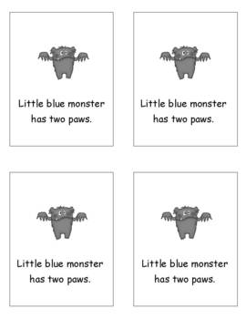 Little Yellow Monster: A Halloween Tiny Tale