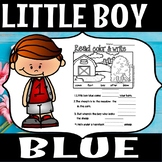 Little boy blue (FLASH FREEBIE)
