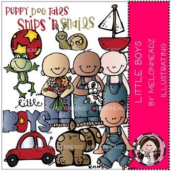 Little boys clip art - COMBO PACK- by Melonheadz