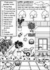 Little gardener - fun and encouraging worksheet