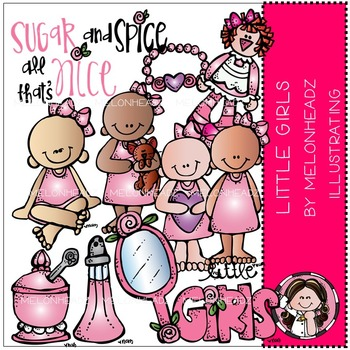 Little girls by Melonheadz COMBO PACK