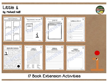 Little i by Michael Hall 17 Book Extension Activities NO PREP