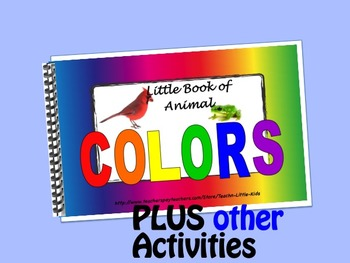 Animal Colors LITTLE INTERACTIVE BOOK plus activities