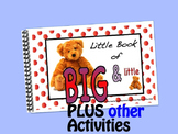 Big & Little LITTLE INTERACTIVE BOOK plus activities
