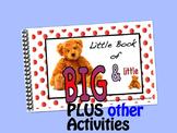 Big & Little LITTLE INTERACTIVE BOOK plus activities