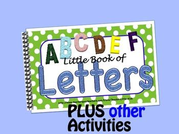 Letters  LITTLE INTERACTIVE BOOK plus activities