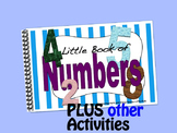 Counting / Numbers LITTLE INTERACTIVE BOOK plus activities