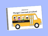 Things I Learned in School/Basic Concept Review LITTLE INTERACTIVE BOOK