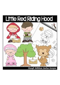 Little Red Riding Hood Clipart Collection